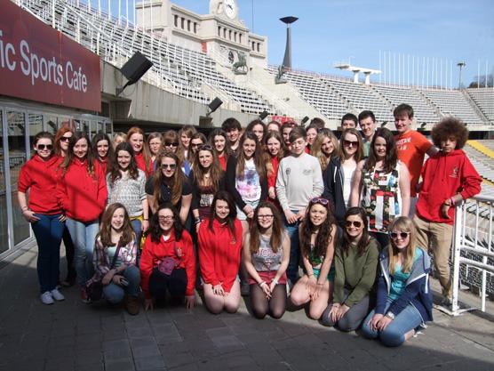 barcelona olympic stadium visit
