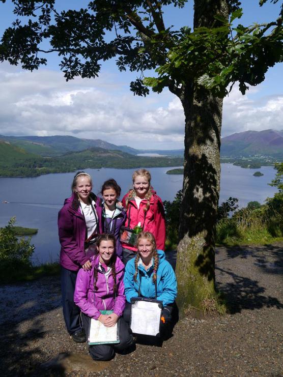 girls at the lakes