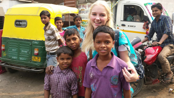 Bethany Henry, Mayapuri slum children