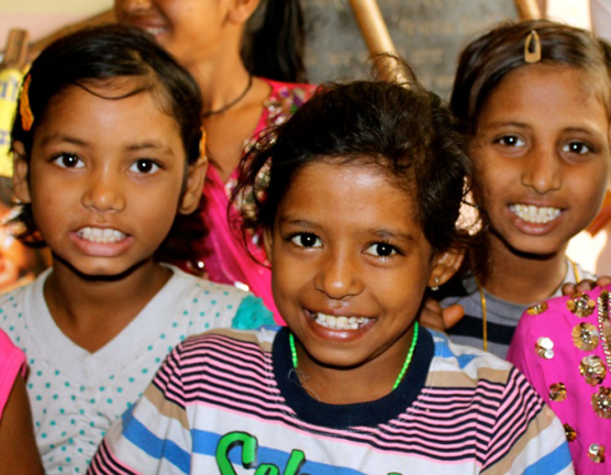 Mayapuri Bal Mandal kids